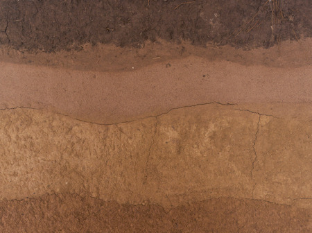 canyon walls: Layer of soil underground background