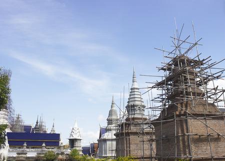 Pagoda in Chiang Mai, Thailand.