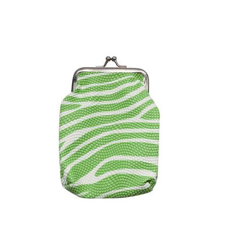purse isolated on white background photo