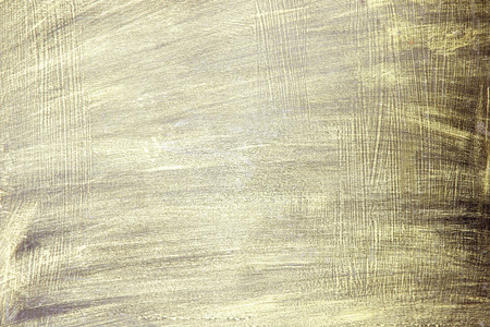 Painted Gold on metal texture for background photo