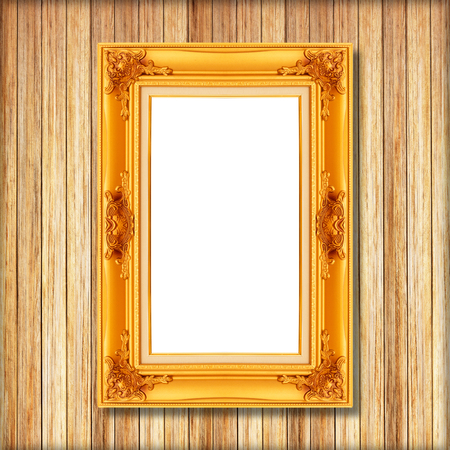 Espejos Bonito Antiguo Marco De Madera Para Foto Marco Vacío