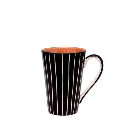 ceramic mug isolated on white photo