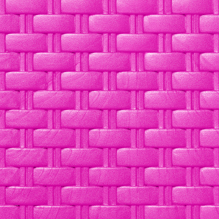 Plastic weave pattern texture and background;  purple color Stock Photo