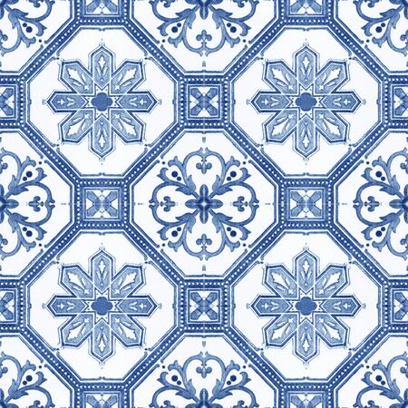 Old ceramic tiles patterns