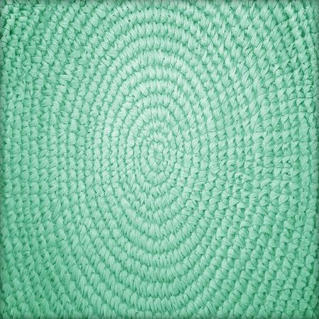 detai: Circle basketry pattern texture background Stock Photo