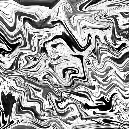 onyx: Abstract marble texture. Black and white background Stock Photo