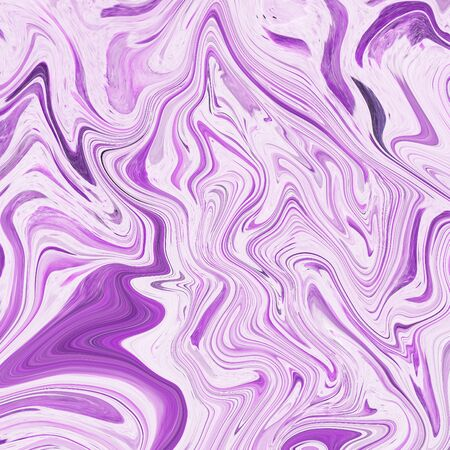onyx: Creative background with abstract acrylic painted waves Stock Photo