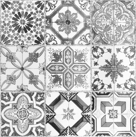 Belles vieilles céramique murale carreaux motifs