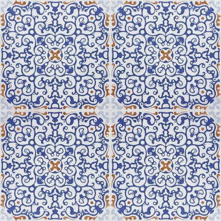azulejos: Old ceramic tiles patterns  in the park public.