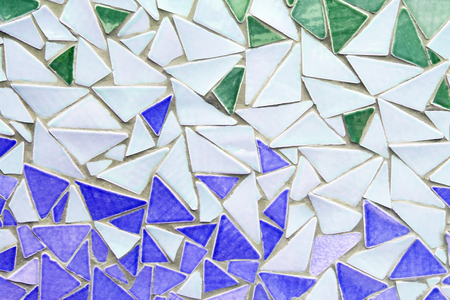 redecorate: mosaic wall decorative ornament from ceramic broken tile