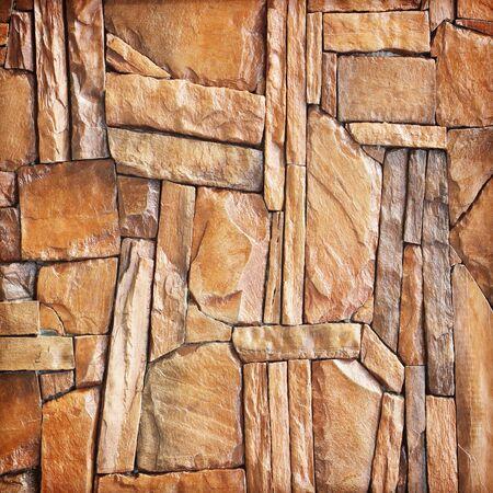 slab: modern slab ,slate stone wall background; Brown stone wall background