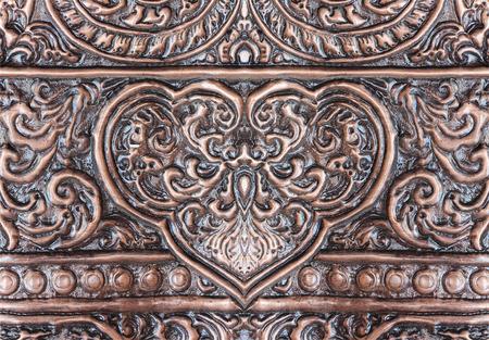 silverware: El arte y el patr�n de plata tallado. Foto de archivo