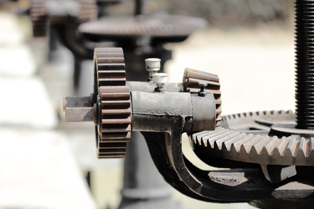 machine teeth: Gear for open water gates