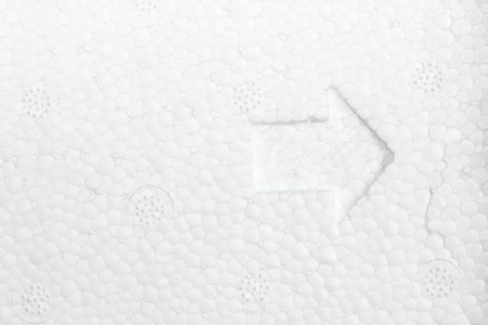 Polystyrene ,Styrofoam foam texture background Stock Photo