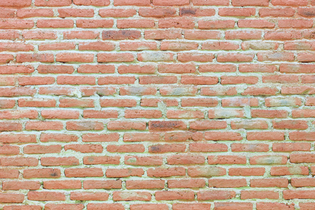 old brick wall cracked concrete vintage background