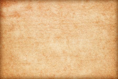 Alte Papierstruktur. Vintage-Papierhintergrund oder -beschaffenheit; alte braune Papierstruktur