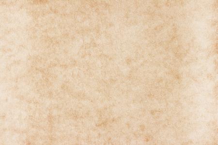 Textura de papel viejo. Fondo o textura de papel vintage; textura de papel marrón