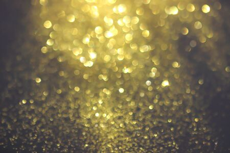 gold glitter texture christmas abstract background, Defocused Banque d'images - 125047063