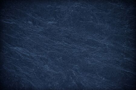 Blue texture dark slate background. Stone surface background