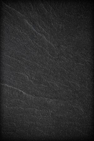Priorità bassa o struttura dell'ardesia nera grigio scuro.