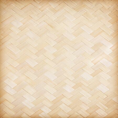 close up woven bamboo pattern; woven bamboo texture surface abstract background.