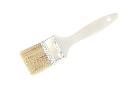 Paint brush on white background Reklamní fotografie