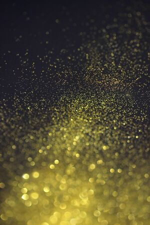gold glitter texture christmas abstract background, Defocused Reklamní fotografie
