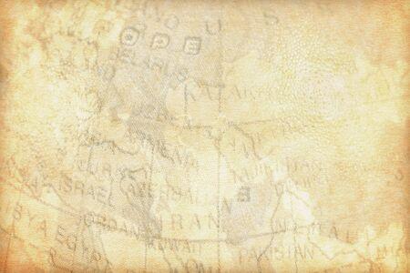 Old vintage maps paper background.