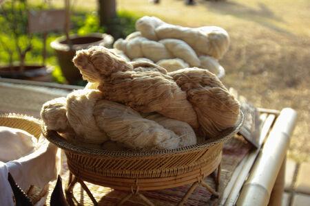 messaline: silk Thailand