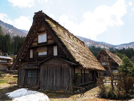 historische: Shirakawago historisch dorp