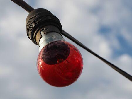 rote ampel: Rotes Licht Lampe Lizenzfreie Bilder