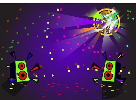 scattering: disco ball vector