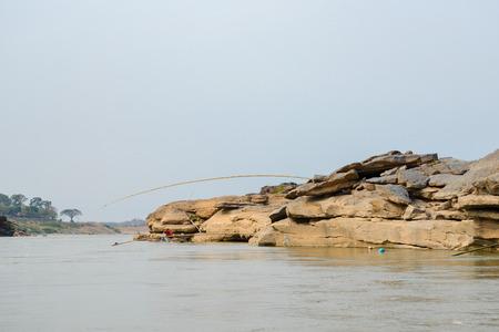 khong river: Thailand Grand Canyon Stock Photo