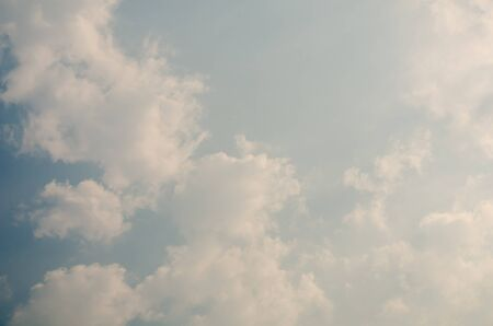 firmament: cloudy nature background
