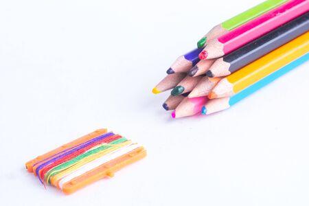 crayon: crayon pencil