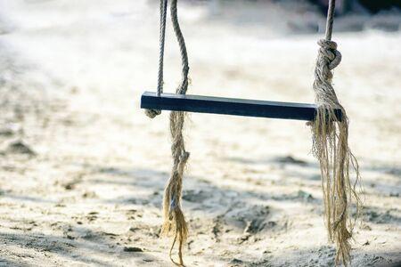 swing seat: dondolo sulla spiaggia