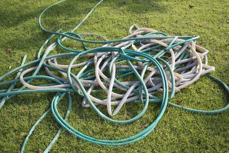 plastic conduit: rubber tube