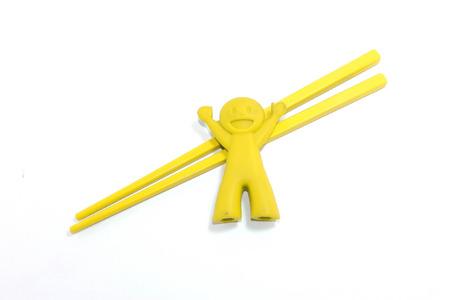 chop sticks: Yellow Chop Sticks Set