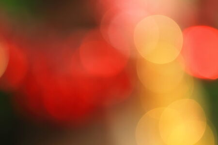 amazing bokeh of christmas lights photo