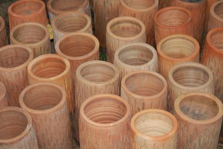 earthenware Stock Photo