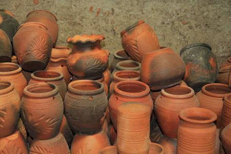 Old pottery in Nonthaburi, Thailand
