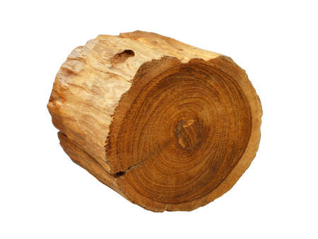 timber on the white background Stock Photo - 16405615