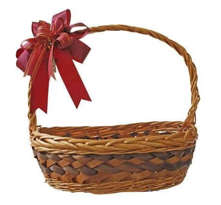 basket on the white background Stock Photo - 17121790