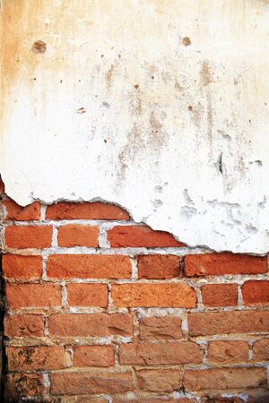 old brick wall in the past Stock Photo - 18172439