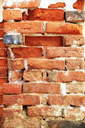 old brick wall in the past Stock Photo - 18172436
