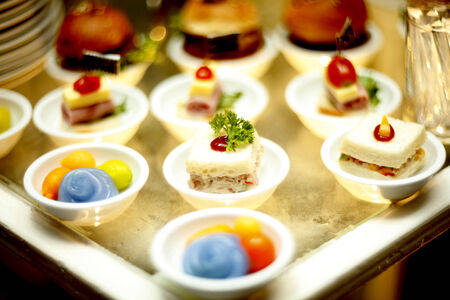 The fusion food wedding snack