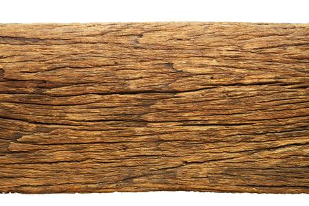 Wood texture on white background Stock Photo