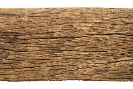 wood texture: Houtstructuur op een witte achtergrond