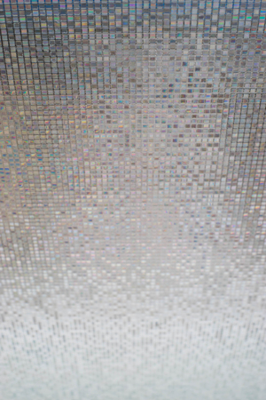 Glass wall texture, decoration Stock Photo