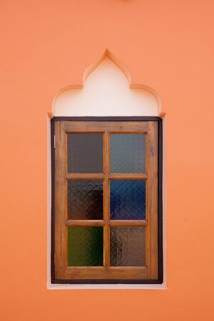 Exterior window of indian style
